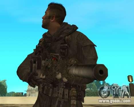Sniper MacMillan for GTA San Andreas third screenshot