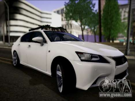 Lexus GS 350 for GTA San Andreas