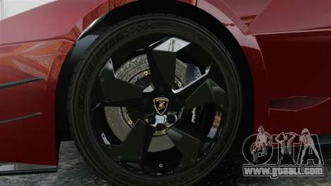Lamborghini Reventon Body Kit Final for GTA 4 back view