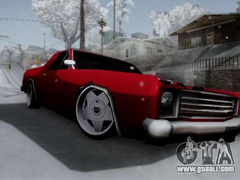 Picador V8 Picadas for GTA San Andreas left view