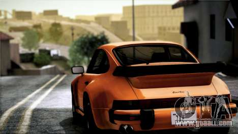 Porsche 911 Turbo 3.3 Coupe 1982 for GTA San Andreas back view