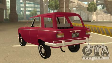 Fiat 1500 Familiar for GTA San Andreas back view