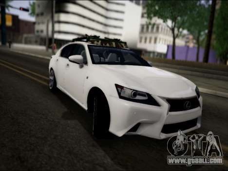 Lexus GS 350 for GTA San Andreas right view