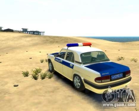 GAZ 31105 DPS for GTA 4 left view