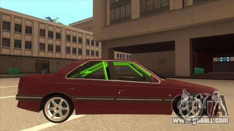 Peugeot 405 ami16 X4 for GTA San Andreas back left view