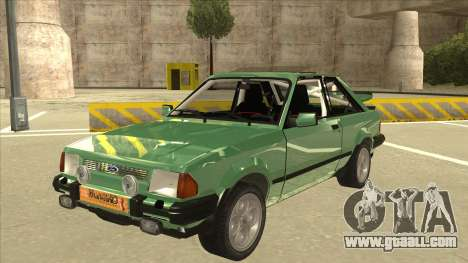 Ford Escort XR3 With Cosworth Spoiler for GTA San Andreas