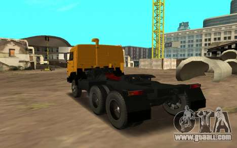 KAMAZ 54115 for GTA San Andreas back left view