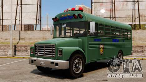 The prison bus, New York City for GTA 4