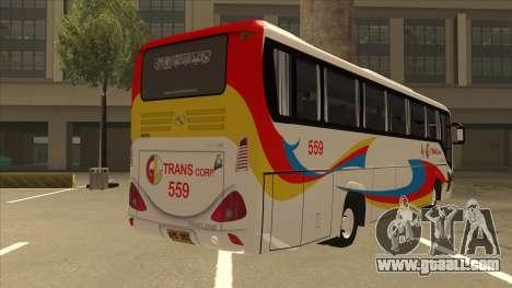 Kinglong XMQ6126Y - GL Trans 559 for GTA San Andreas right view