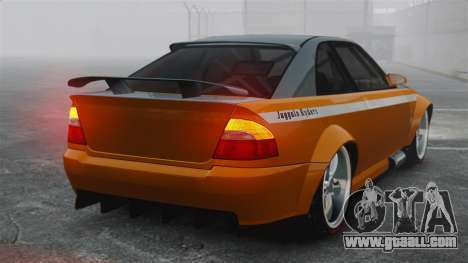 Sultan RS v2.5 for GTA 4 back left view
