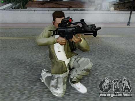 HK-G36C for GTA San Andreas
