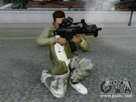 HK-G36C for GTA San Andreas