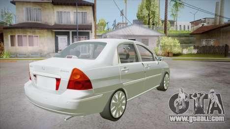 Suzuki Liana 1.3 GLX 2002 for GTA San Andreas right view
