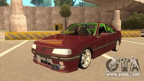 Peugeot 405 ami16 X4 for GTA San Andreas