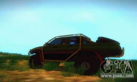 Uaz Patriot Pickup for GTA San Andreas left view