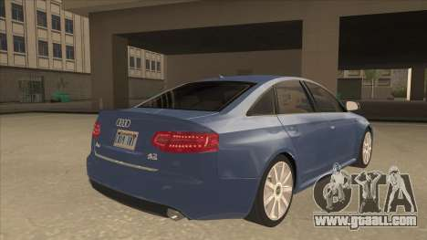 2010 Audi A6 4.2 Quattro for GTA San Andreas right view