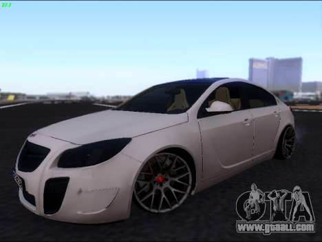 Opel Insignia for GTA San Andreas inner view