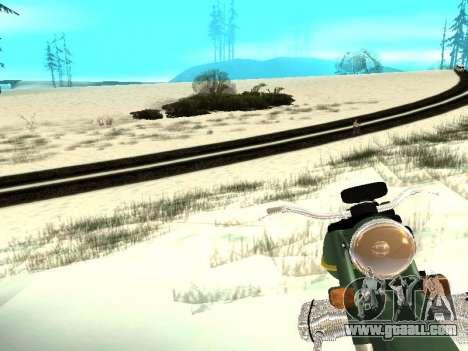 Winter v1 for GTA San Andreas tenth screenshot