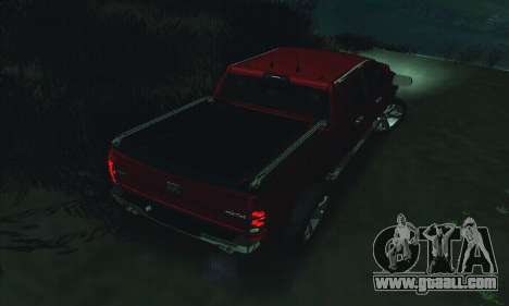 Dodge Ram 2500 HD for GTA San Andreas bottom view