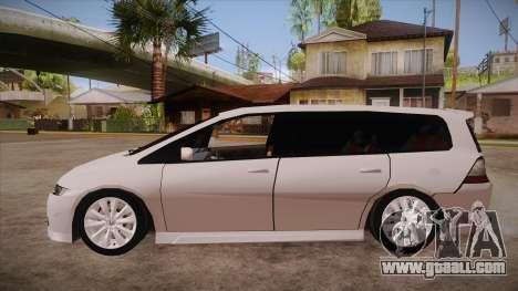 Honda Odyssey v1.5 for GTA San Andreas left view