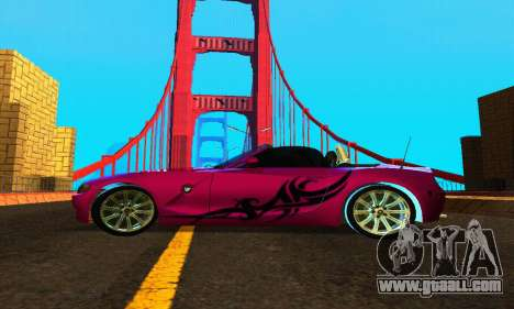BMW Z4 2005 for GTA San Andreas left view
