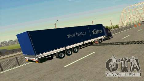 Kogel trailer for Volvo FM16 for GTA San Andreas