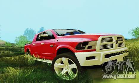 Dodge Ram 2500 HD for GTA San Andreas side view