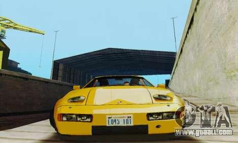 Porsche 928 (1986) v1.1 for GTA San Andreas back view