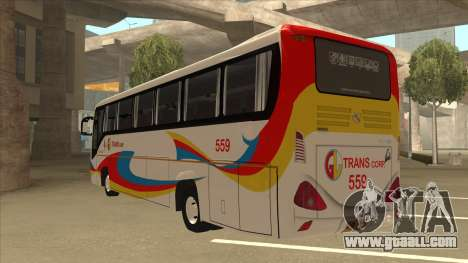 Kinglong XMQ6126Y - GL Trans 559 for GTA San Andreas back view