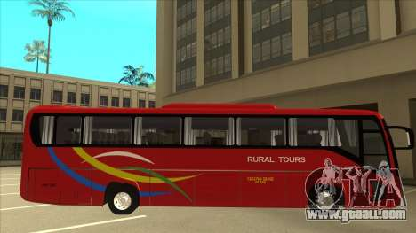 KINGLONG XMQ6126Y - Rural Tours 2780 for GTA San Andreas back left view