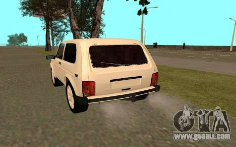 The Niva VAZ 21213 for GTA San Andreas