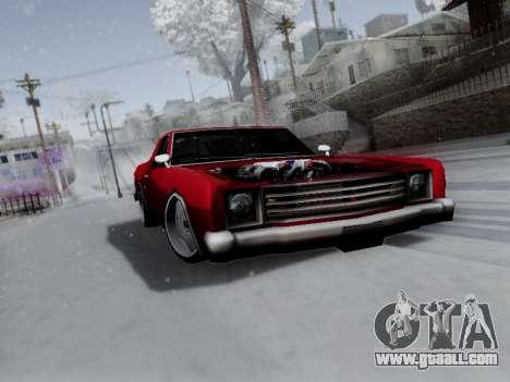 Picador V8 Picadas for GTA San Andreas inner view