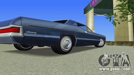 Mercury Monterey 1972 for GTA Vice City back view