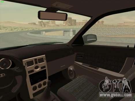 Lada Priora for GTA San Andreas side view