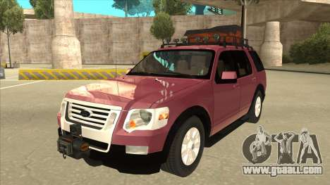 Ford Explorer 2011 for GTA San Andreas
