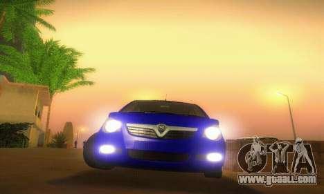 Vauxhall Agila 2011 for GTA San Andreas side view