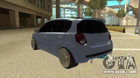 Chevrolet Aveo LT for GTA San Andreas back view