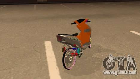 Yamaha Mio Soul 2 for GTA San Andreas back left view