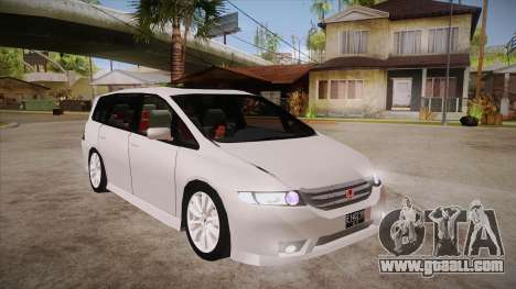 Honda Odyssey v1.5 for GTA San Andreas back view