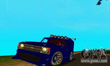 IZH 2715 Novosib Tuning for GTA San Andreas
