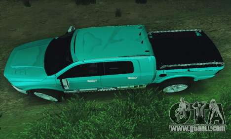 Dodge Ram 2500 HD for GTA San Andreas left view