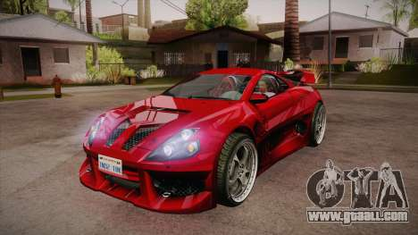CYBORX CD 10.1s XL-SE Custom for GTA San Andreas