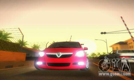 Vauxhall Agila 2011 for GTA San Andreas inner view