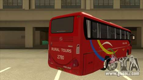 KINGLONG XMQ6126Y - Rural Tours 2780 for GTA San Andreas right view