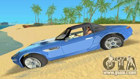 BMW Z8 for GTA Vice City back view