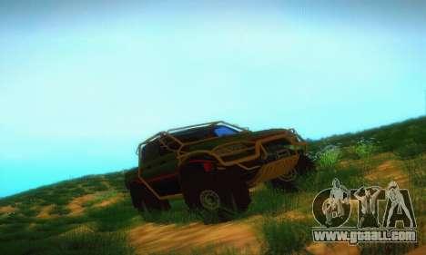 Uaz Patriot Pickup for GTA San Andreas