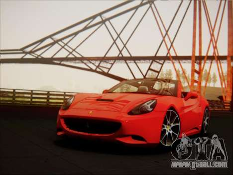 Ferrari California 2009 for GTA San Andreas