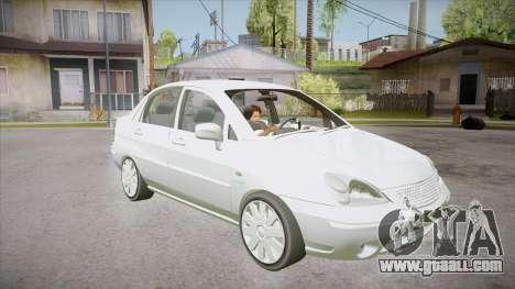 Suzuki Liana 1.3 GLX 2002 for GTA San Andreas back view