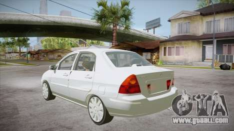 Suzuki Liana 1.3 GLX 2002 for GTA San Andreas back left view