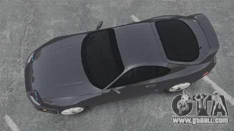 Toyota Supra for GTA 4 right view